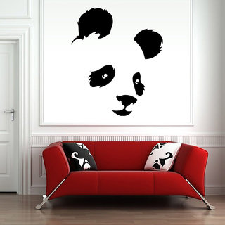 Panda Face Wall Decal