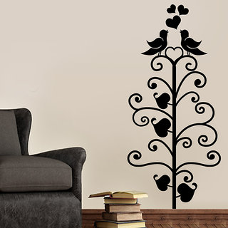Love Birds on Tree Wall Decal
