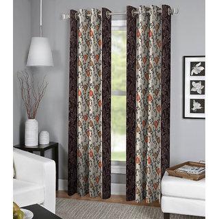 BSB Trendz Printed Single Door Curtain