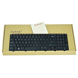 Eathtek New Laptop Keyboard for Dell Inspiron 15R N5110 M5110 series Black US Layout, Compatible Part Numbers 4DFCJ 04DFCJ MP-10K73US-442 MP-10K7 (Note: The part# may be different)