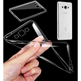 Samsung Galaxy J7 Soft Transparent Back Cover Case