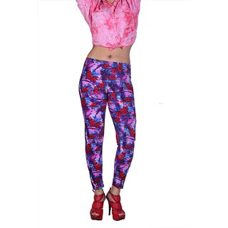 YAS D Printed Imported  Multicolor Legging