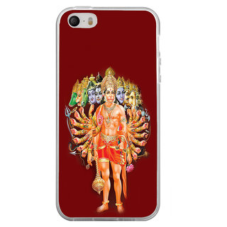 ifasho Lord Hanuman Back Case Cover for Apple Iphone 4