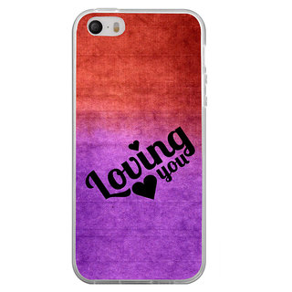 ifasho Loving you Back Case Cover for Apple Iphone 4