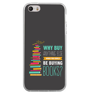 ifasho Good messge on Books Back Case Cover for Apple Iphone 4