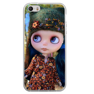 ifasho Cute Girl Back Case Cover for   4