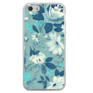 ifasho Modern Art Design animated cloth Pattern of flower Back Case Cover for Apple Iphone 4