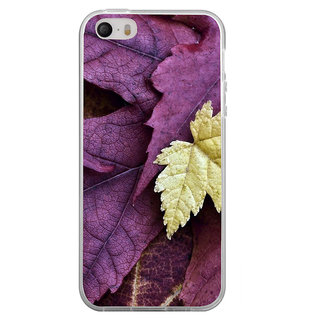 ifasho Fallen Leaf Back Case Cover for Apple Iphone 4