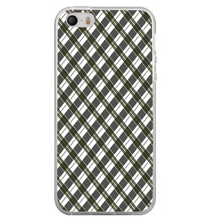 ifasho Colour Full Square Pattern Back Case Cover for   4