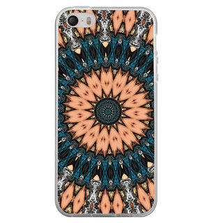 ifasho Animated Pattern design colorful flower in royal style Back Case Cover for Apple Iphone 4