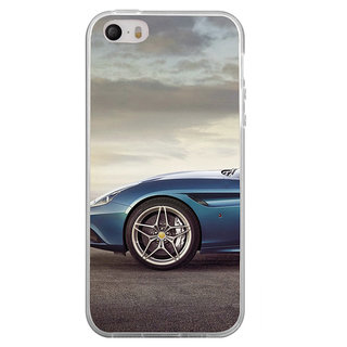 ifasho Stylish long Car wheel Back Case Cover for Apple Iphone 4