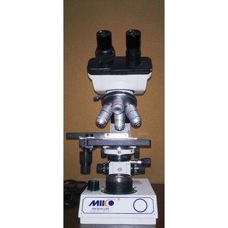 MIKO 1500x Professional Binocular Biology Student Microscope w SEMI PLAN Objectives Model VD-50-B