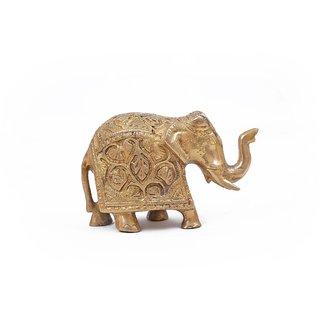 Creative Crafts Brass Figurine Elephant Home Decorative Handicraft Corporate/Diwali Gift& Showpiece