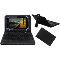 7inch Keyboard For HP 7 G2 1311 Tablet - Black With OTG Cable By Krishty Enterprises
