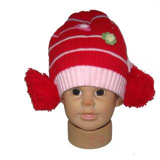 Goodluck Winter Warm Woolen Caps Boy  Girls SSKDCP37