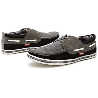 Lee Cooper Lee Cooper Cool And Casual Lace Ups (Dark Grey)