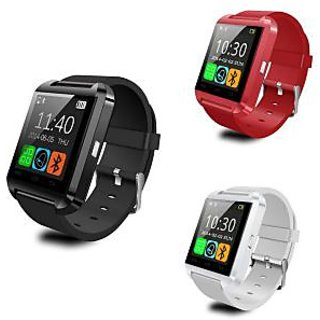 Bluetooth Smart Watch For Android  Iphones Assorted Colours By Malcom