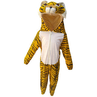 KFD-Tiger fancy dress for kids,Wild Animal Costume for Annual function/Theme party/Competition/Stage Shows/Birthday Party Dress