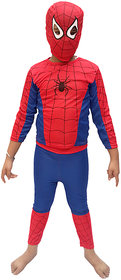 KFD-Spiderman fancy dress for kids,Super Hero Costume for annual function/theme party /competition/Stage Shows/Birthday Party Dress