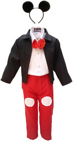 KFD-Mickey Mouse Fancy dress for kids,Diseny Cartoon/Character based Animation Costume for annual function/theme party/Stage Shows/competition/Birthday Party Dress