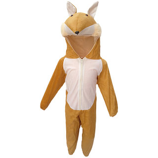 KFD-Fox fancy dress for kids,Wild animal Costume for Annual function/Theme Party/Competition/Stage Shows/Birthday Party Dress