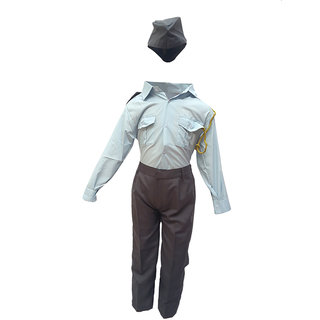 KFD-Pilot  fancy dress for kids,Our helper/Indian Air Force costume for Annual function/Theme Party/Stage Shows/competition/Birthday Party Dress