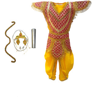 KFD-Lord Ram fancy dress for kids,Ramleela/Dussehra/Mythological Character for Annual function/theme party/competition/Stage Shows/Birthday Party Dress