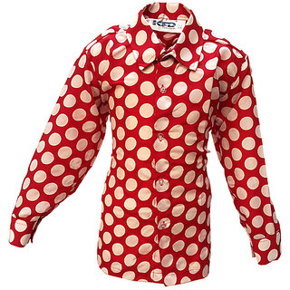 KFD-Polka Dot Shirt fancy dress for kids,Western Costume for Annual function/Theme Party/Competition/Stage Shows/Birthday Party Dress