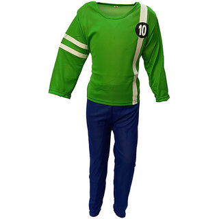 KFD Ben10 Fancy Dress For KidsDiseny Cartoon Costume Annual Function Theme Party Stage Shows Competition Birthday