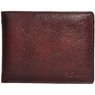 Tamanna Men Brown Genuine Leather Wallet  (5 Card Slots)