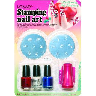 Konad Stamping Nail Art Kit Set C In India Shopclues Online