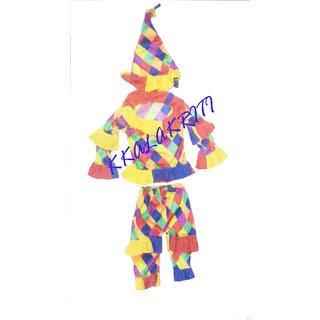 Joker Clown Fancy Dress Costume For Kids