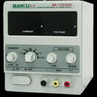 New Original Baku 1502DD 15V 1A adjustable DC Power Supply for Mobile Repair