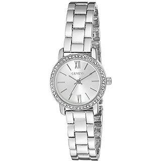 Geneva FMDG008 12mm Alloy Silver Watch Bracelet