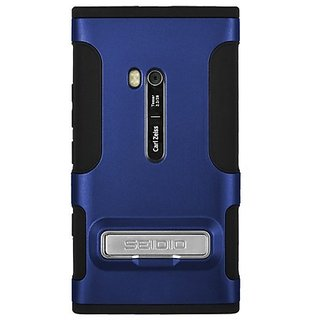 Seidio CSK3NK900K-RB DILEX Case with Metal Kickstand for use with Nokia Lumia 900 - Royal Blue
