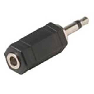 C&E CNE53722 3.5mm Stereo Jack to 3.5mm Mono Plug Adapter