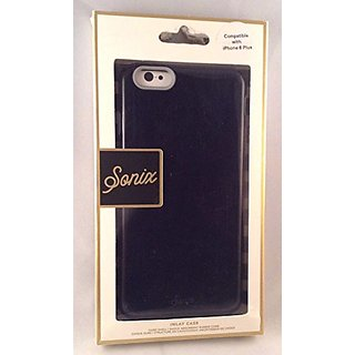 Sonix iPhone 6 Plus Glossy Inlay Case - Carrying Case - Retail Packaging - Black / Gray