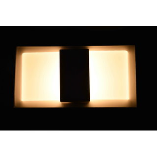 Contemporary white LED wall lamp by Lightspro