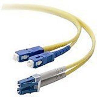 Belkin Duplex Fiber Optic Cable / LC/SC/8.3/125/20 Meters