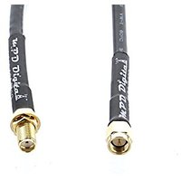 Handheld Ham Radio Handitalk Antenna Extension Cable- SMA Female Jack To SMA Male Plug Coaxial Cable Jumper Connects To