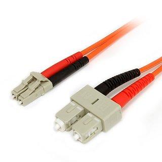 StarTech.com 3m Multimode 62.5/125 Duplex Fiber Patch Cable LC - SC (FIBLCSC3)