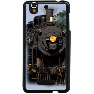 ifasho Train engine design Back Case Cover for YU Yurekha