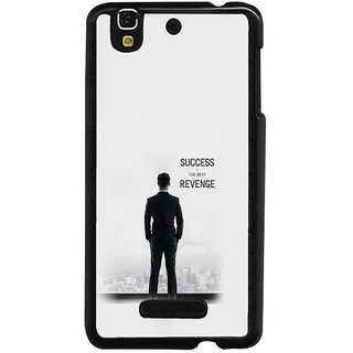 ifasho quotes on success Back Case Cover for YU Yurekha