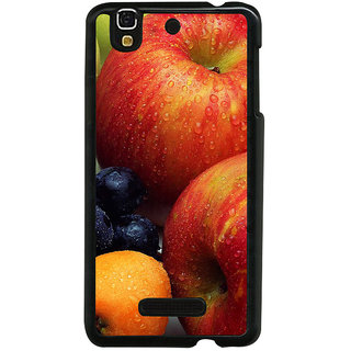 ifasho Fruits pattern Back Case Cover for YU Yurekha