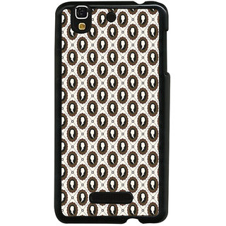 ifasho Animated  Royal design with Queen head pattern Back Case Cover for YU Yurekha
