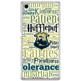ifasho Motivatinal Quote Back Case Cover for Sony Xperia M4 Aqua
