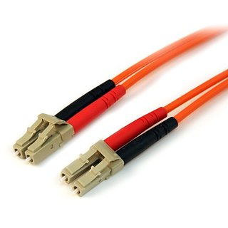 StarTech.com Multimode 50/125 Duplex Fiber Patch Cable LC - LC - 1m (50FIBLCLC1)