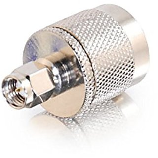 C2G / Cables to Go 42205 N-Male to SMA-Male Adapter (Silver)