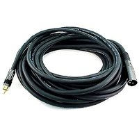 Monoprice 104781 35-Feet Premier Series XLR Male To RCA Male 16AWG Cable