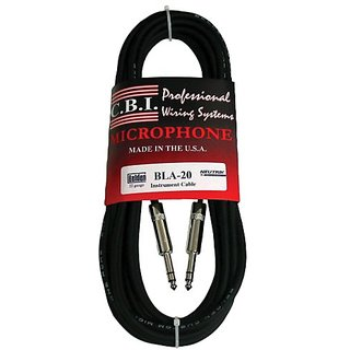 CBI Ultimate Series 1/4 Inch TRS To 1/4 Inch TRS Cable - 15 Foot